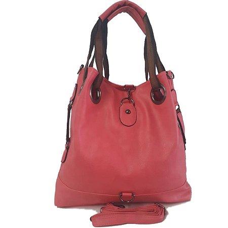 Bolsa Feminina Grande Tipo Saco Pink