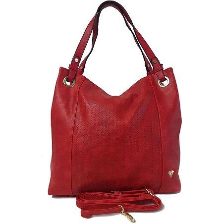 Bolsa Feminina Tipo Saco Vermelha