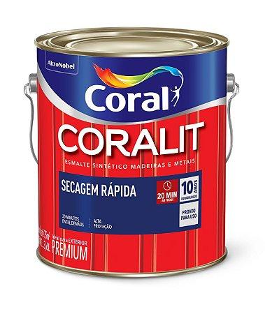 Esmalte S. AB Branco Coralit Secagem Rápida 3.6LT Coral