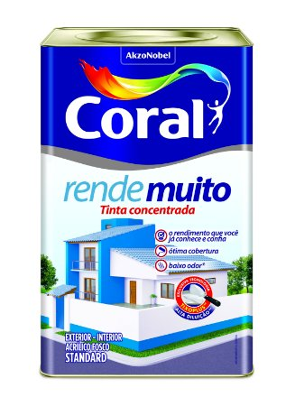 Acr Fosc Concreto Rende Muito 18LT Coral STD