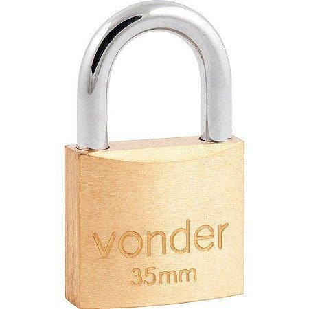 Cadeado de Latão VONDER 35mm
