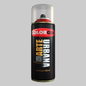 Tinta Spray COLORGIN ARTE URBANA CINZA CLARO 400ML - 915