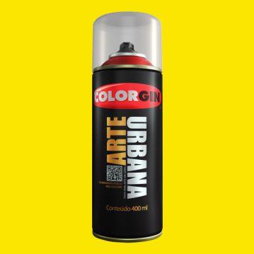 Tinta Spray COLORGIN ARTE URBANA AMARELO OURO 400ML - 915