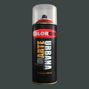 Tinta Spray COLORGIN ARTE URBANA CINZA LONDRES 400ML - 915