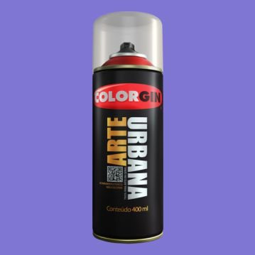 Tinta Spray COLORGIN ARTE URBANA LILAS 400ML - 915