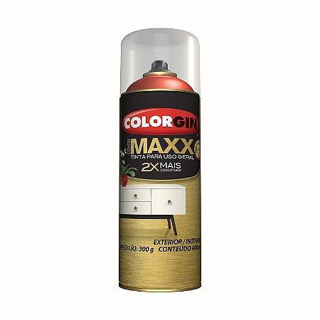 Tinta Spray Colorgin COVER MAXX BRANCO SUPREMO 400ML