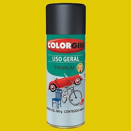 Tinta Spray Uso Geral Amarelo 400ML COLORGIN
