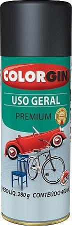 Tinta Spray COLORGIN Uso Geral Branco Brilhante 400ML -  55011