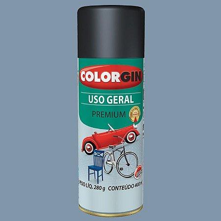 Tinta Spray COLORGIN Uso Geral Cinza Placa 400ML -  55041