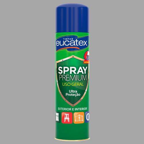 Spray Multiuso Grafite Brilho 400ML Eucatex