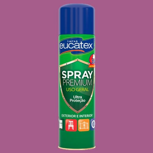 Spray Multiuso Rosa Brilho 400ML Eucatex