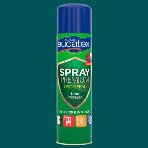 Spray Eucatex Multiuso Verde Claro Brilho 400ML - 7710102.71