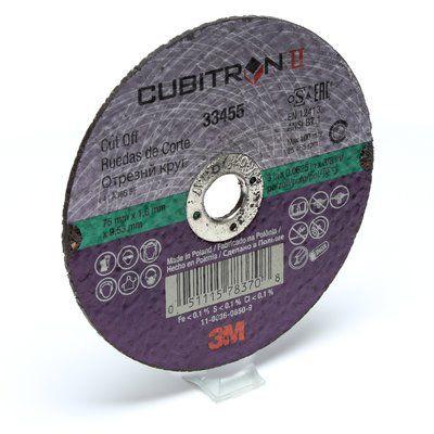 Disco de Corte 3M™ Cubitron™ II, 75 x 1 x 9,5 mm