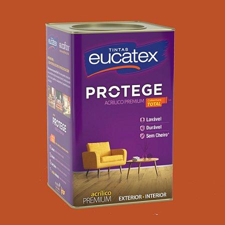 Tinta Acrílica Premium Tomate Seco 18LT Eucatex