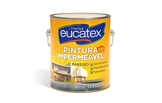 Pintura Impermeável Branco 18KG Eucatex - 5600001.38