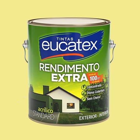 Tinta Acrílica Rendimento Extra Amarelo Canário 3.6LT Eucatex