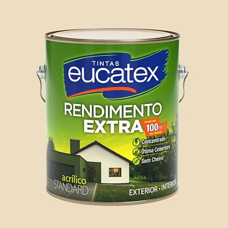 Tinta Acrílica Rendimento Extra Areia 3.6LT Eucatex