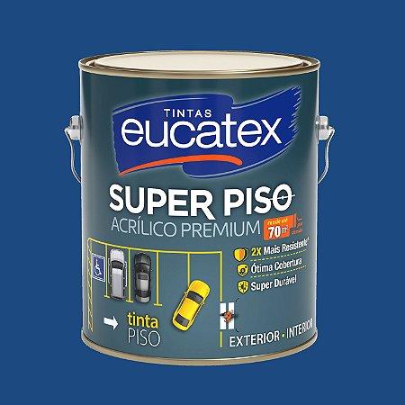 Tinta Acrílica Piso Azul 3.6LT Eucatex