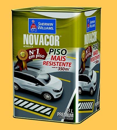 Novacor Piso Premium Amarelo 18LT