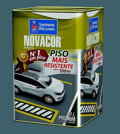 Novacor Piso Premium Cinza 18LT