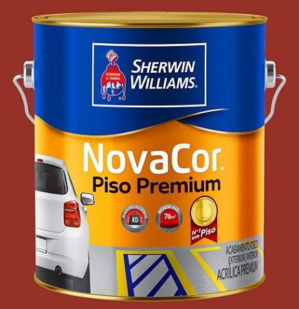Novacor Piso Premium Vermelho 3.6LT