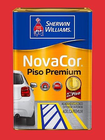 Novacor Piso Premium Vermelho Segurança 18LT