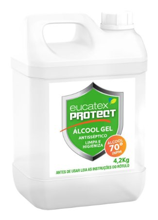 Eucatex Protect Álcool Gel Antisséptico 5LT - 3290000.81