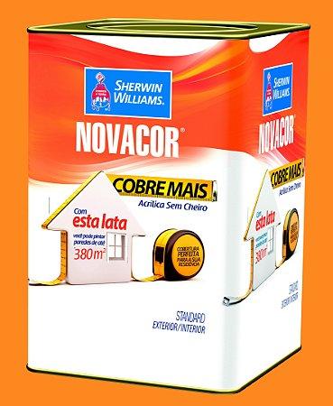 Tinta Acrílica Amarelo Sol Cobre Mais 18LT Novacor - 38592606