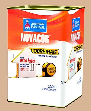 Tinta Acrílica Areia Cobre Mais 18LT Novacor - 38591106