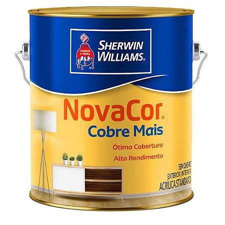 Tinta Acrílica Branco Cobre Mais 3.6LT Novacor