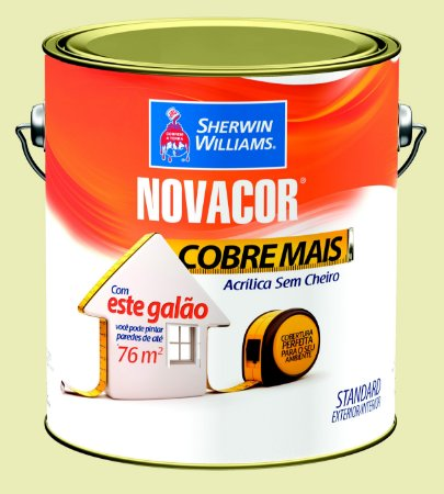 Tinta Acrílica Marfim Cobre Mais 3.6LT Novacor