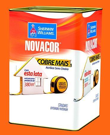 Tinta Acrílica Tangerina Cobre Mais 18LT Novacor - 38591406