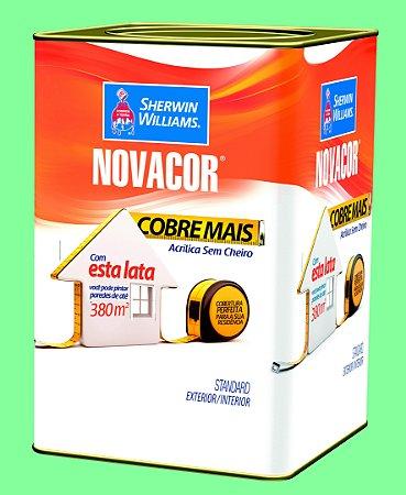 Tinta Acrílica Verde Campestre Cobre Mais 18LT Novacor - 38593806
