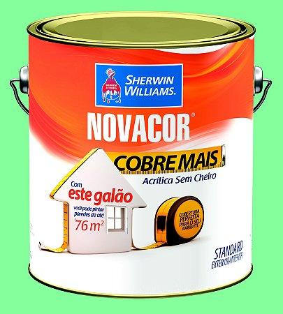 Tinta Acrílica Verde Campestre Cobre Mais 3.6LT Novacor
