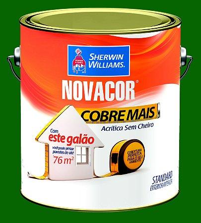Tinta Acrílica Verde Jardim Cobre Mais 3.6LT Novacor - 38593901