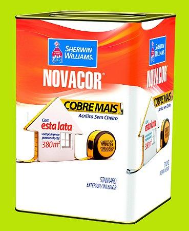 Tinta Acrílica Verde Limão Cobre Mais 18LT Novacor - 38596006