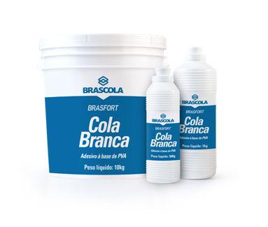 Brasfort Cola Branca 1KG - 3110001