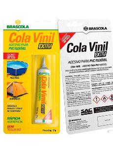 Cola Vinil 17GR Brascola - 3140001