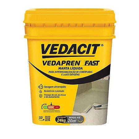 Vedapren Fast Branco 24 kg Vedacit