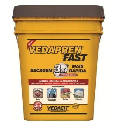 Vedapren Fast Concreto 24 kg Vedacit
