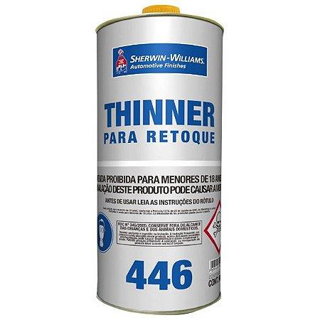 Thinner para retoque 446 0.9 L Lazzuril