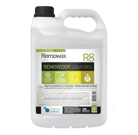 Removedor de Ceras Remowax R8 Ingleza - 5 litros