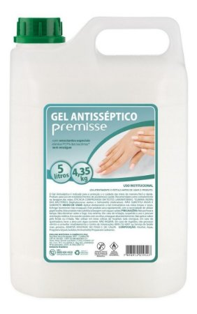 Álcool Gel Antisséptico Premisse - 5 litros