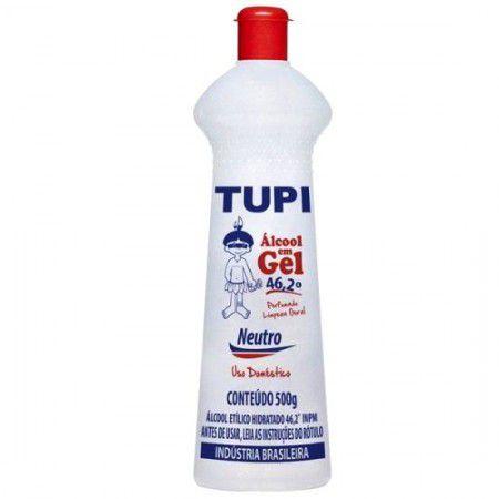 Álcool Gel Tupi 46,2º 500g