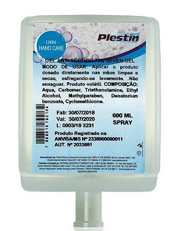 Álcool Spray Plestin 600ml