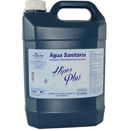 Água Sanitária Hiper Plus - 5 litros
