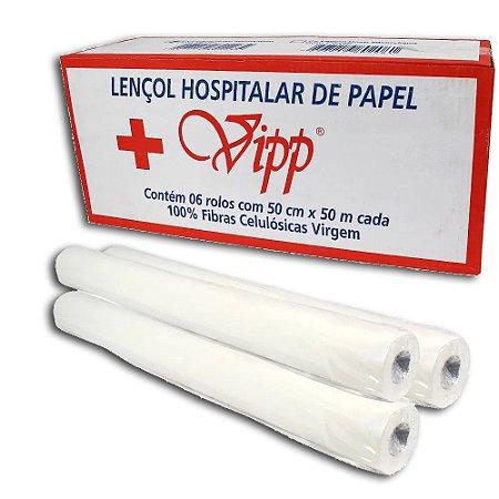 Lençol Hospitalar 50X50 Vipp Plus