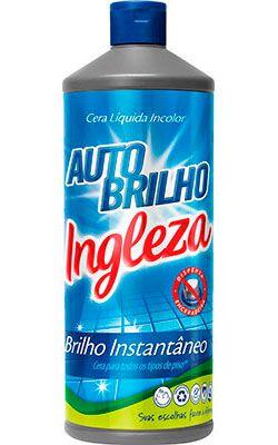 Cera Auto brilho Incolor Ingleza - 850ml