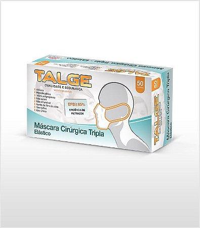 Máscara Elástica Tripla - Talge