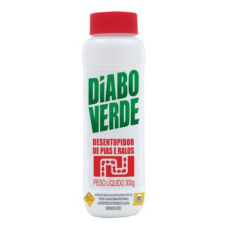 Desentupidor de Pia Diabo Verde - 300g